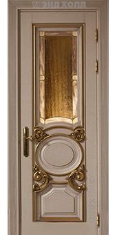 Дверь из массива - бланка витраж-01