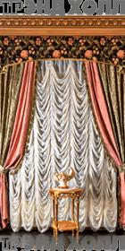 Декоративная панель карниза штор