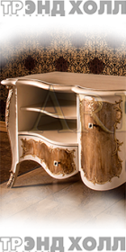 Белый комод и прикроватная тумба «Арьяна»