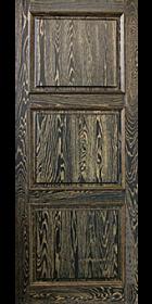 Дверь из дуба Экста Вуд - тренто багет мореный дуб