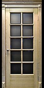 Дверь из массива дуба ДПО-10 Неаполь беленый дуб-2