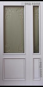 Дверь из массива дуба модель Марсель-Багет Лаванда