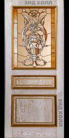 Дверь из массива дуба - Милан Багет Беленый Дуб