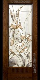 Дверь из массива дуба модель Неаполь старинный дуб-2