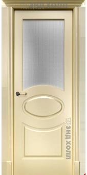 Дверь Оливия со стеклом «Паве»