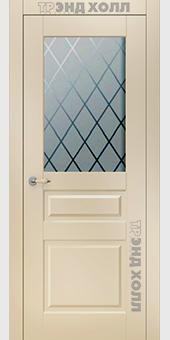 Дверь Прайм со стеклом «Ромб»