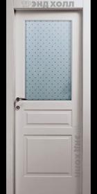 Дверь Прима-3 со стеклом «Паве»