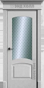 Дверь Верона-2 со стеклом «Лотос»
