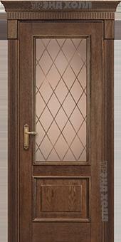 Дверь Арт-2-ПО-Орех