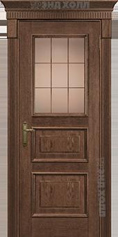 Дверь Арт-3-ПО-Орех