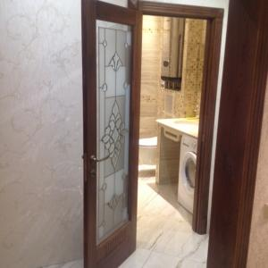 Двери Неаполь с фрезировкой под стекло